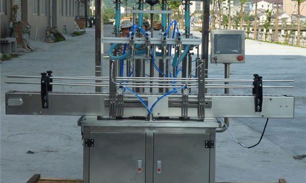 स्वचालित मूंगफली पेस्ट भरने की मशीन