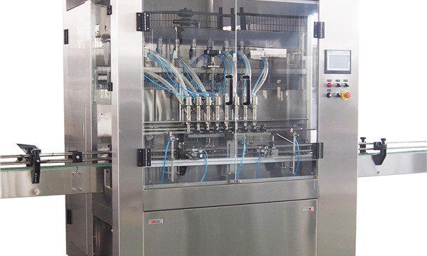 डिशवॉशिंग तरल भरने की मशीन