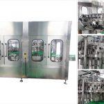 स्वचालित बीयर वोदका वाइन ग्लास बोतल भरने की मशीन
