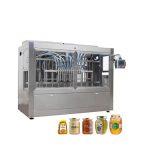 स्वचालित ग्लास जार हनी भरने कैपिंग मशीन