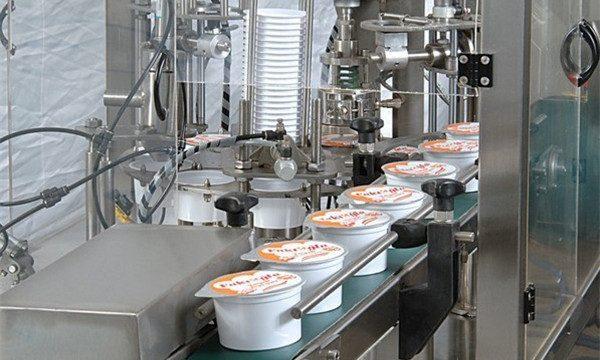 स्वचालित आइसक्रीम कप भरने की मशीन सील