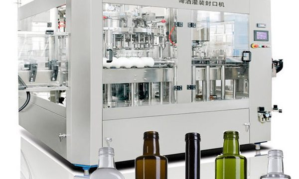 बीयर कैन तरल भरने की मशीन