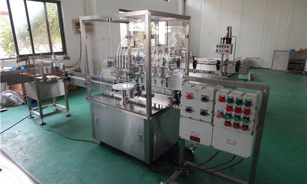 स्वचालित उच्च चिपचिपापन तरल भरने की मशीन