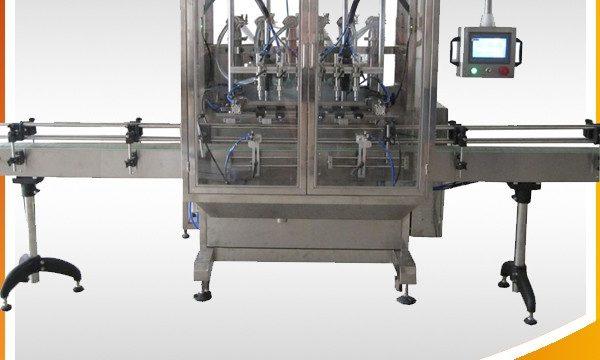 स्वचालित जैतून का तेल और क्रीम और तरल भरने की मशीन