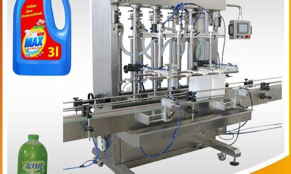 डबल-हेड फुल-ऑटोमैटिक पिस्टन टाइप लिक्विड फिलिंग मशीन