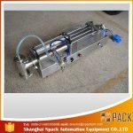 अर्द्ध स्वचालित पिस्टन भरने की मशीन आदर्श तेल भरने की मशीन