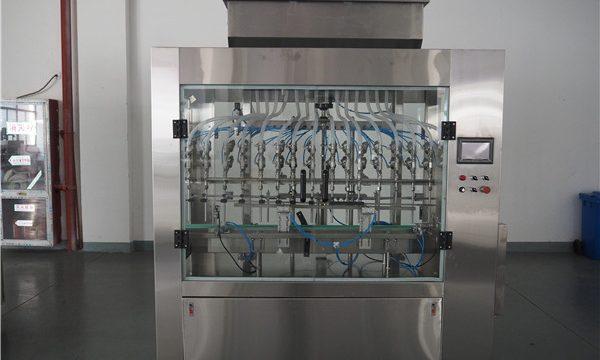 स्वचालित 12 प्रमुख वायुमंडलीय दबाव तरल भरने की मशीन