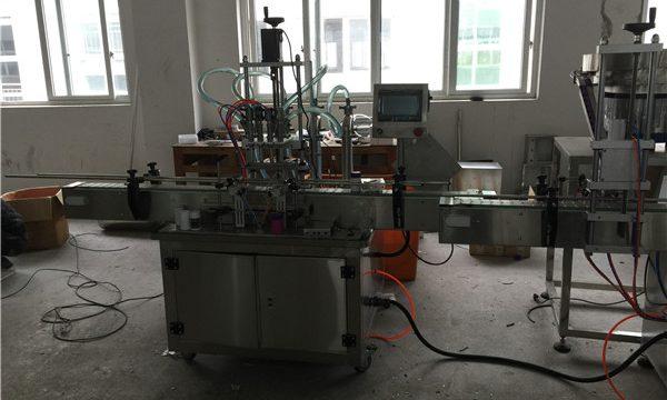 स्वचालित पिस्टन तरल भरने की मशीन 50 एमएल से 1 एल