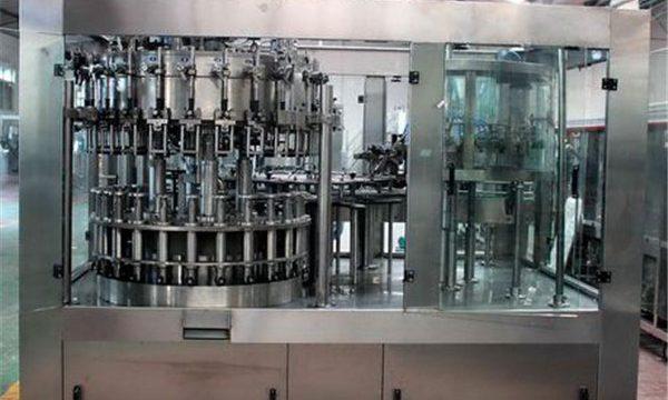 तेल / शुद्ध पानी के लिए स्वचालित स्टेनलेस स्टील तरल भरने की मशीन
