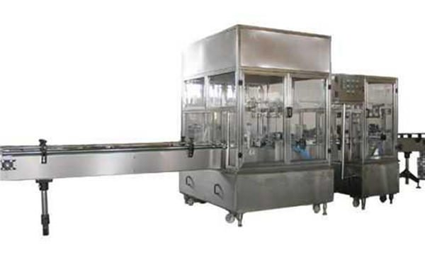 पूरी तरह से स्वचालित तरल साबुन भरने की मशीन लाइन