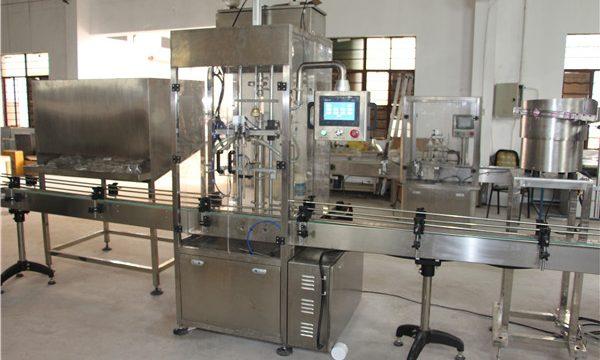 उच्च मात्रा स्वचालित बोतल शैम्पू भरने की मशीन
