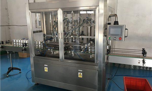 कांच की बोतल सॉस भरने की मशीन