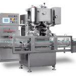 डबल हेड्स सेमी-ऑटोमैटिक फ्रूट जैम फिलिंग मशीन