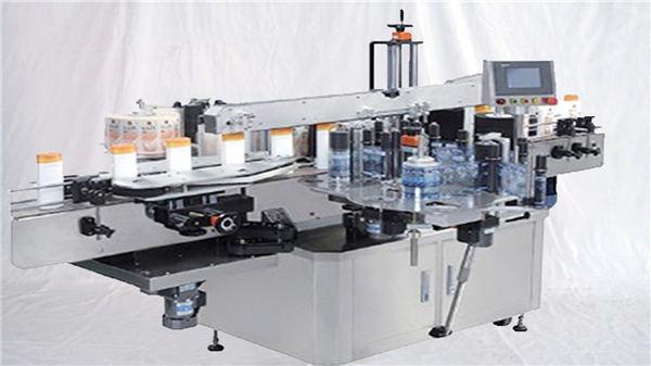 ग्लास इत्र की शीशी शीर्ष सतह लेबल मशीन
