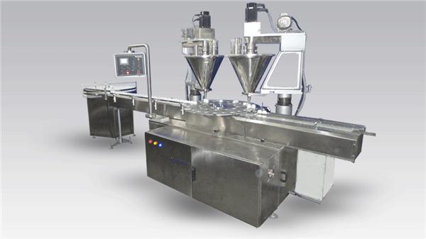 6-हेड फुल-ऑटोमैटिक कॉफी फिलिंग मशीन पाउडर