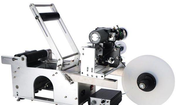 अर्ध स्वचालित गोल बोतल लेबलिंग मशीन
