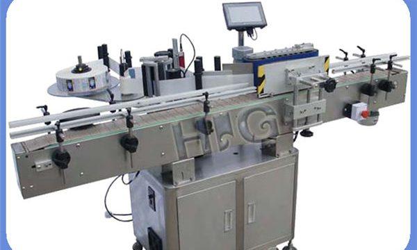 प्रिंटर के साथ स्वचालित NPACK राउंड बोतल लेबलिंग मशीन निर्माता
