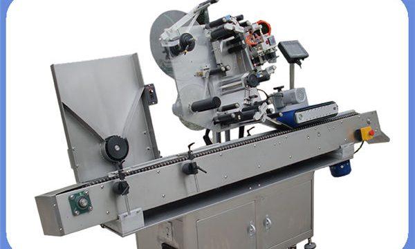 दौर और वर्ग के लिए स्वचालित बोतल स्टीकर लेबलिंग मशीन