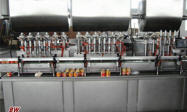 स्वचालित हॉट पिज्जा सॉस भरने की मशीन