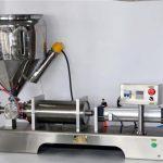 डिब्बे के लिए मैनुअल सॉस भरने की मशीन