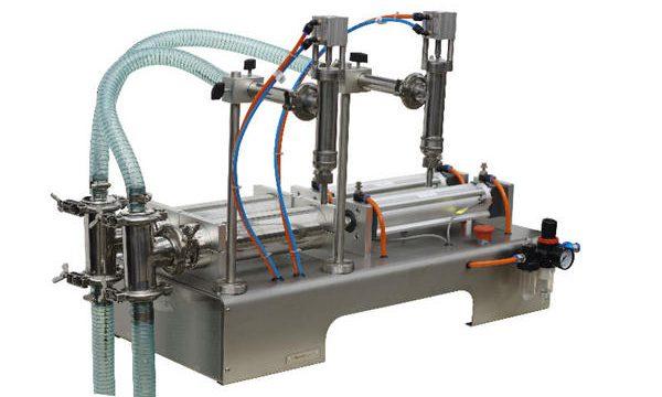 अर्ध स्वचालित पाउच तरल साबुन भरने की मशीन