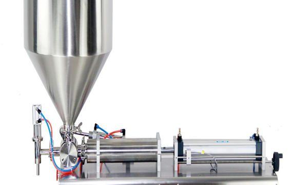 अर्ध स्वचालित पिस्टन जार क्रीम भरने की मशीन