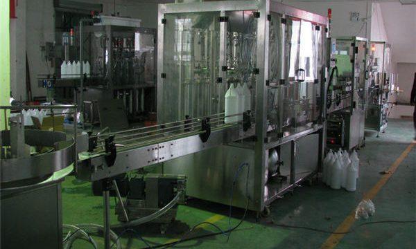स्वचालित शैम्पू भराव / शैम्पू भरने की मशीन / शैम्पू भरने की रेखा
