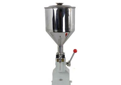 छोटे हाथ संचालित क्रीम भरने की मशीन