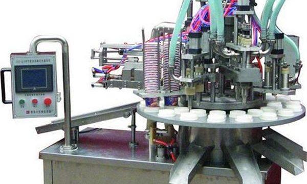 स्वचालित कॉस्मेटिक मरहम / क्रीम भरने की मशीन