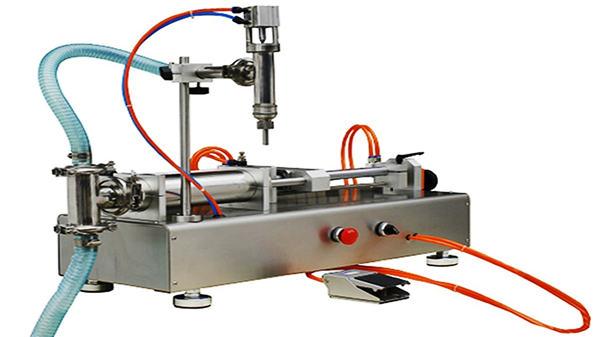 डबल प्रमुख वायवीय क्रीम भरने की मशीन 100-1000 मि.ली.