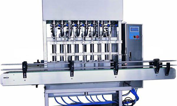 स्टेनलेस स्टील तरल साबुन भरने की मशीन
