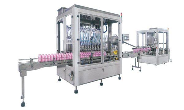 पूर्ण स्वचालित तरल साबुन डिटर्जेंट शैम्पू भरने की मशीन