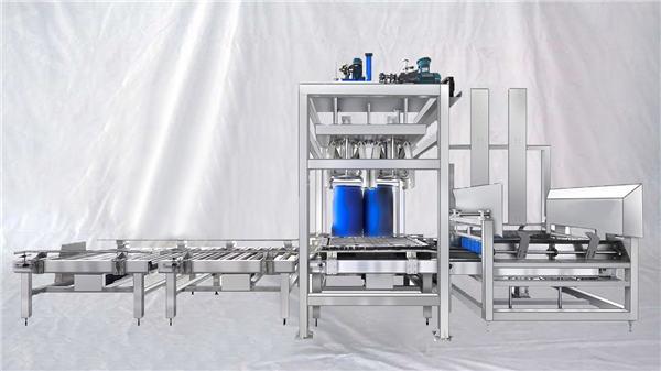 अनुकूलन योग्य ESDF श्रृंखला 100-1000L क्षमता बड़ी ड्रम स्वचालित भरने की मशीन
