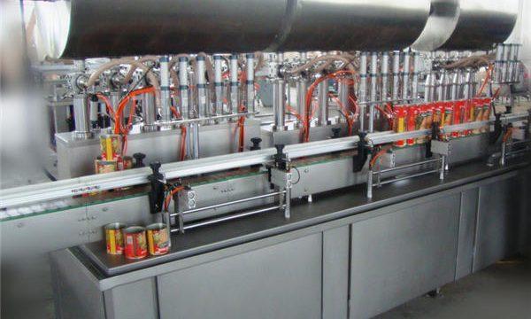 डबल-हेड फुल-ऑटोमैटिक चिली पेस्ट भरने की मशीन