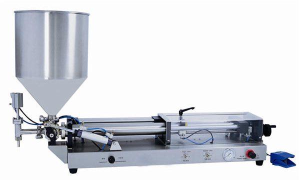 3mL-5L के लिए अर्ध-स्वचालित पेस्ट भरने की मशीन