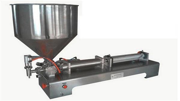 सिंगल हेड सेमी ऑटोमैटिक वर्टिकल पेस्ट फिलिंग मशीन