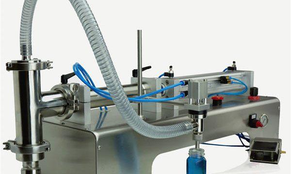उच्च गुणवत्ता अर्द्ध स्वचालित पिस्टन भरने की मशीन नई डिजाइन