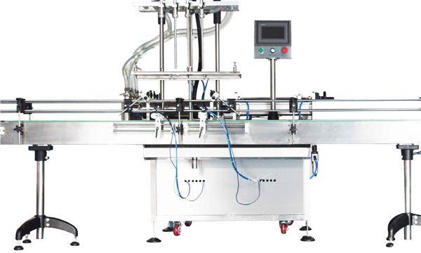 स्वचालित 8, 10, 12 प्रमुख लोशन पिस्टन भरने की मशीन / भराव
