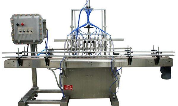 स्वचालित पिस्टन तरल भरने की मशीन 50ml-1L