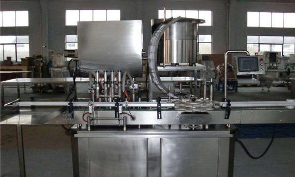 स्वचालित सीधी रेखा पिस्टन भरने की मशीन