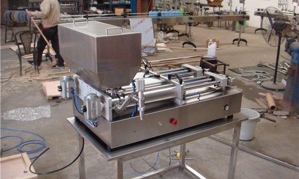 थोक अर्ध स्वचालित सॉस भरने की मशीन